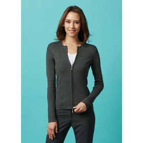 Ladies 2 Way Zip Cardigans