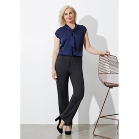 Ladies Classic Flat Front Pants