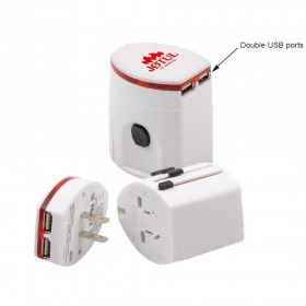 Light Up Universal Travel Adapters