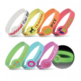 Maxi Silicone Bands - Glow