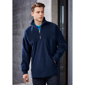 Mens Half Zip Winter Fleeces