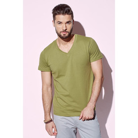 Mens Organic V Neck Tees