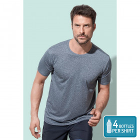 Mens Recycled Sports T Move