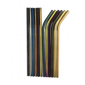 Metal Straws 8mm x 215mm