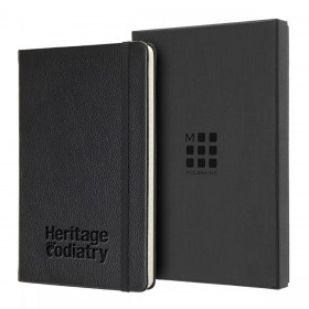 Moleskine Large Leather Notebook - Ruled
