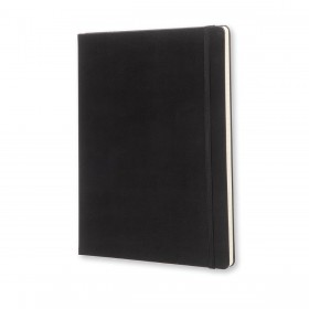 Moleskine X-Large Classic Hard Cover Notebook - Ruled