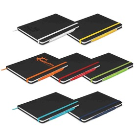 Omega Notebook with Pens