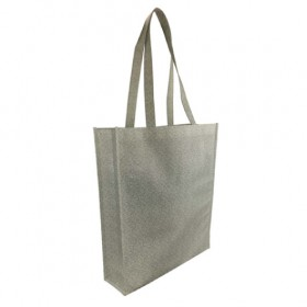 Patterned Gusset Tote Bags
