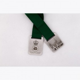 Pewter Ribbon Bookmarks