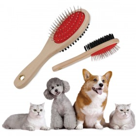 Pin And Bristle Pet Brushes