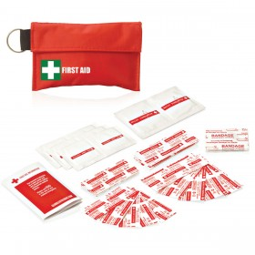 Pouching Keyring 34PC First Aid Kits
