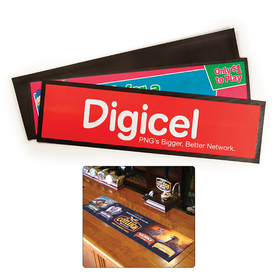 Promotional Bar Runners