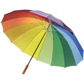 Rainbow Umbrellas