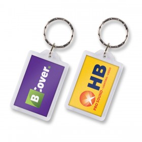 Rectangular Lens Keyrings