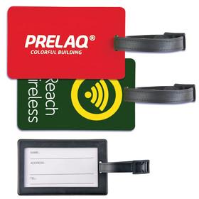 Rectangular PVC Luggage Tags