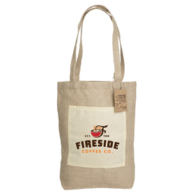 Reforest Jute Gusset Shopper