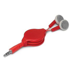 Colour Retractable Ear Buds