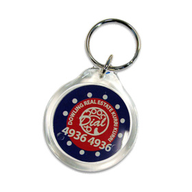 Printed Keyrings: Branded with your logo at low online prices