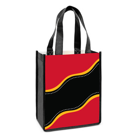 Serpent Gusset Tote Bags
