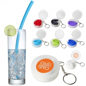 Silicone Straws With Cases