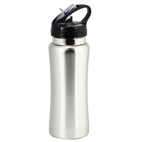 Silver Laver Metal Water Bottles