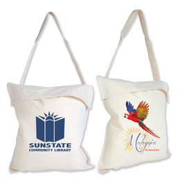 Cotton School Library Bags