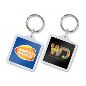 Square Lens Keyrings