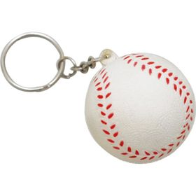 Stress Baseball Keyrings