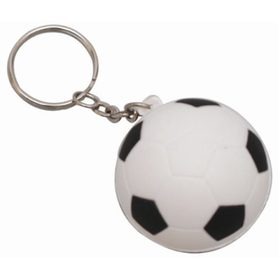 Stress Soccer Ball Keyrings