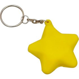 Stress Star Keyrings