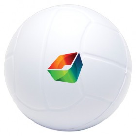 Stress White Volleyballs