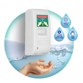 Touchless Hand Sanitiser Dispensers