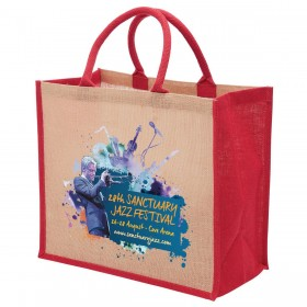 Wide Gusset Eco Jute Bags