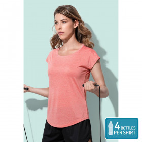 Womens Recycled Sports T Move