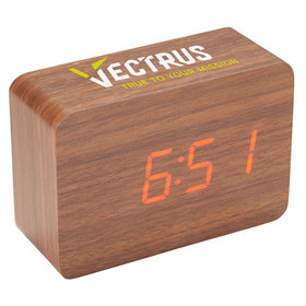 Wood Look Clocks