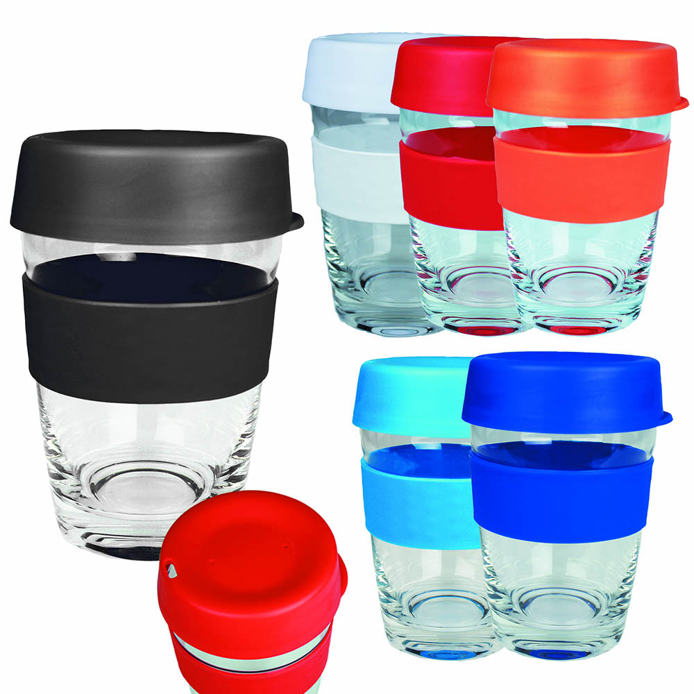 promotional glass carry cups
