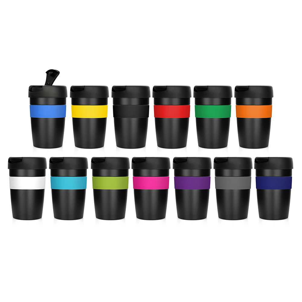 promotional metal cup 2 go