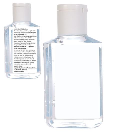 60mL Gel Hand Sanitisers