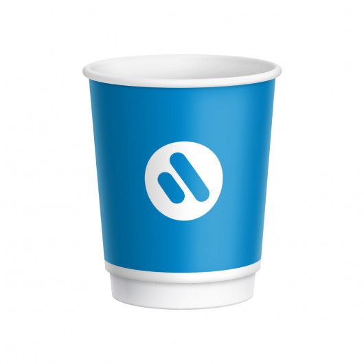 8oz Double Wall Paper Cups