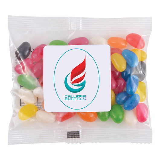 Assorted Mini Jelly Beans - 50g Cello Bags