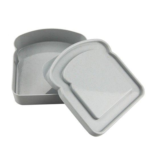 Grey Bamboo Sandwich Boxes