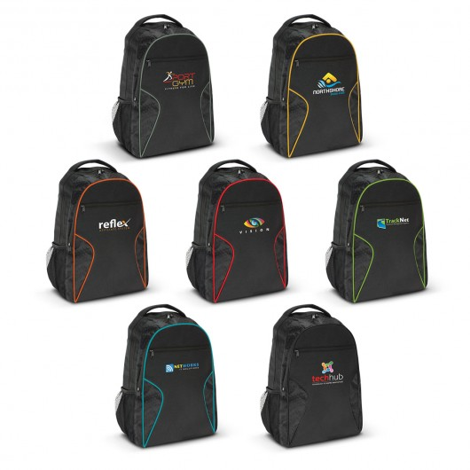 Printed Bulimba Laptop Backpacks