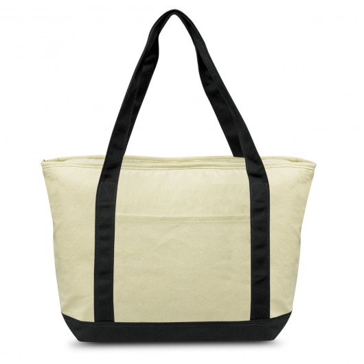 Black Calico Cooler Bags