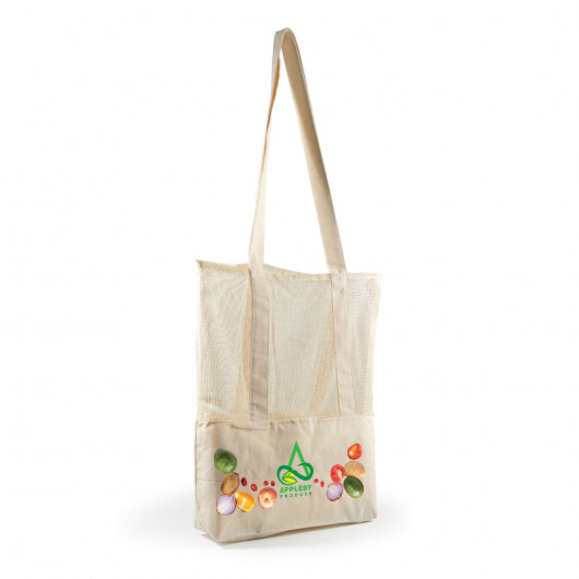 Promotional Calico Mesh Tote Bags