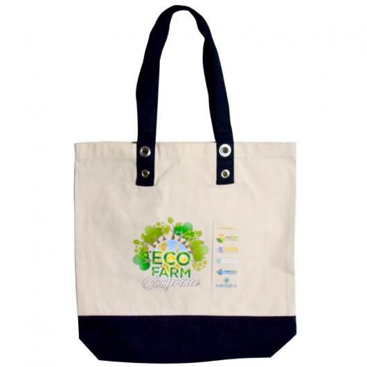 Printed Canvas Beach Tote Bags