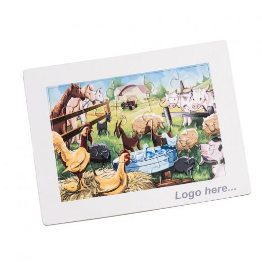 Promotional Cardboard Puzzles