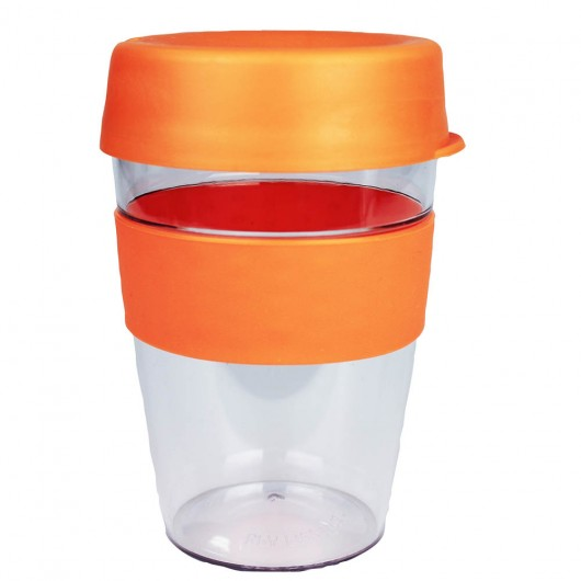 Orange Carry Cups