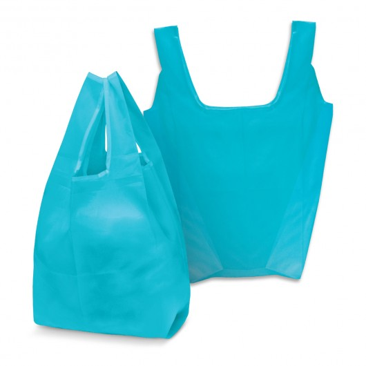 Light Blue Checkout Shopping Bags