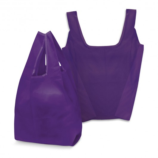 Purple Checkout Shopping Bags
