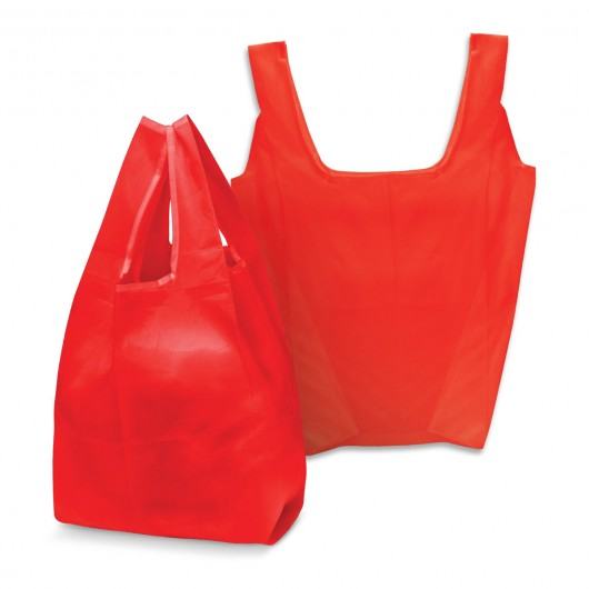 Red Checkout Shopping Bags